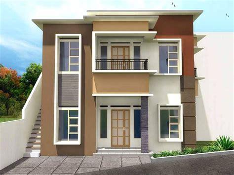 gambar rumah minimalis  lantai warna cokelat desain rumah minimalist minimalist house