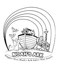 what color was noah noahs ark rainbow coloring page coloring pages