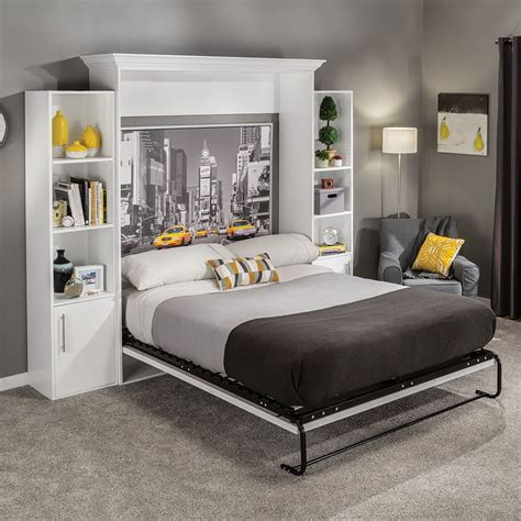 With Bed by I Semble Vertical Mount Murphy Bed Hardware Kits With