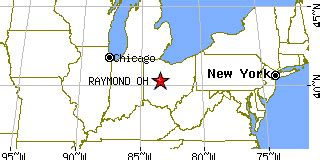 raymond ohio map raymond ohio oh population data races housing economy