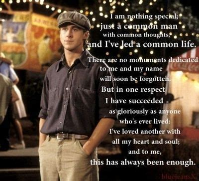film quotes wedding readings memorable quotes from the romance film the notebook