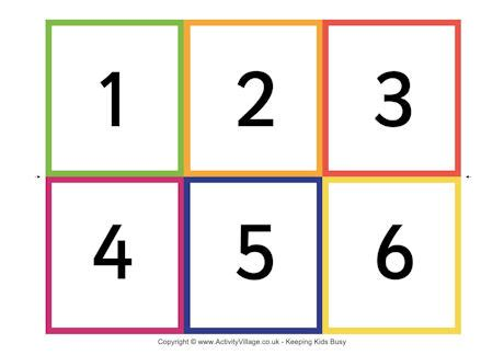 printable number cards number flash cards 1 30