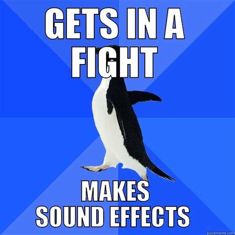 Meme Sound Effects - socially awkward penguin strikes again quickmeme