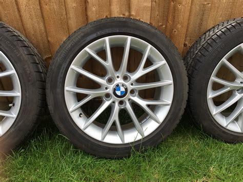 bmw 380 y spoke alloy winter wheel set