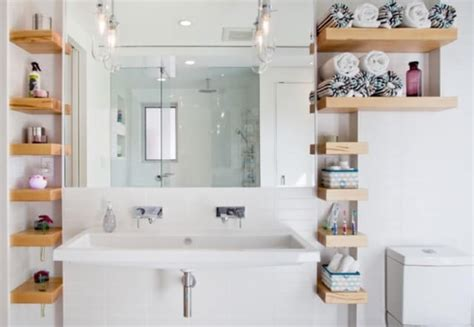 Small Bathroom Shelving Ideas 51 Amazing Small Bathroom Storage Ideas For 2018