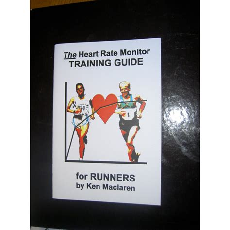 a manual for heartache books the rate monitor guide book for runners by
