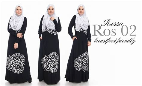 Supplier Baju Rossa Dress Hq norzi beautilicious house jubah rossa limited edition