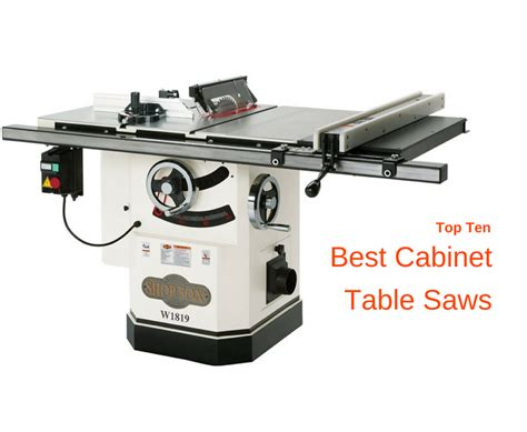 best cabinet table saw top ten best cabinet table saw reviews for 2018 top ten