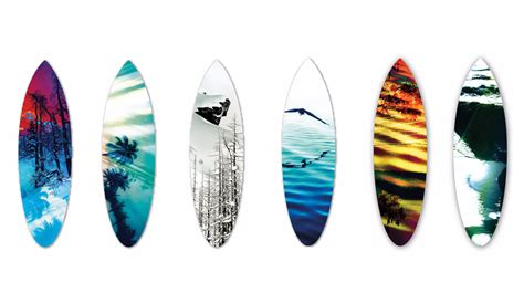 Handmade Surfboards - west coast surf and mountain inspired artwork the inertia