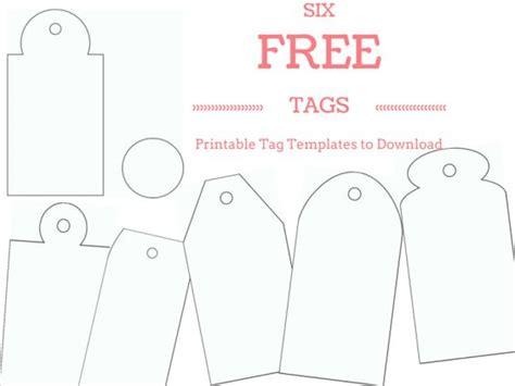 printable gift tags handmade make your own custom gift tags with these free printable