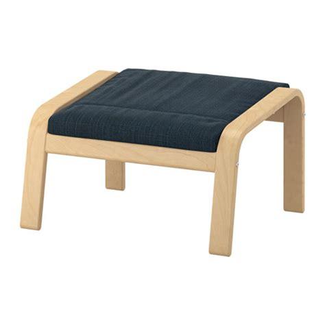 poltrona ikea poang po 196 ng ottoman cushion hillared blue ikea
