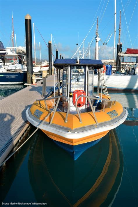 boat us insurance survey used custom survey rib grp hull with alloy pontoons for
