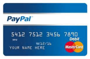 paypal debit business mastercard get 25 and a paypal account free by applying for our