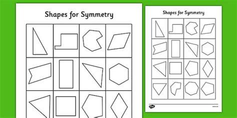 shape pattern twinkl shapes for symmetry worksheet symmetry of 2d shapes