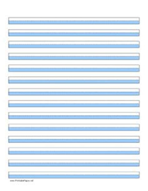 printable highlighted writing paper highlighter paper with fourteen lines and yellow