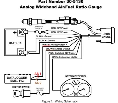 wideband air fuel wiring diagram get free image