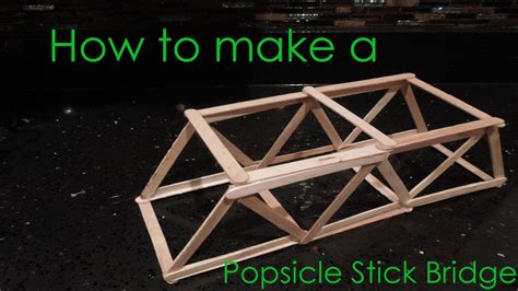 How To Make A Paper Bridge Without Glue - how to make a popsicle stick bridge