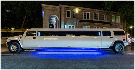 hummer stretch limo hummer h2 stretchlimousine weiss in hamburg mieten