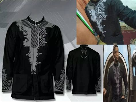 Baju Distro T Shirt Baju Avangers Avangers dress like the king of wakanda for just idr300k with this black panther inspired koko shirt