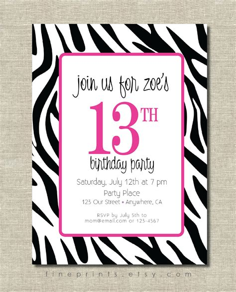 printable zebra invitations free 301 moved permanently
