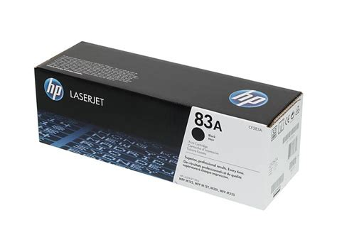 Toner Hp 83a Original by Hp 83a Black Original Laserjet Toner Cartridge Cf283a