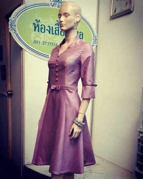Gaun Pesta 66 thai silk design fashion limited edition detail ig kong1980 and detailoflove call 66