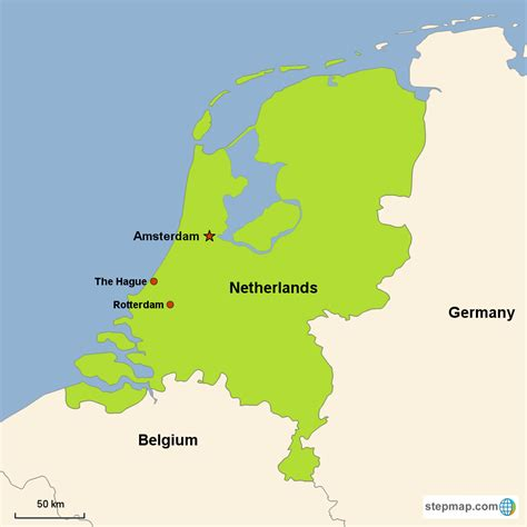 netherlands maps netherlands map