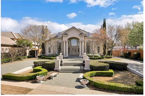 luxury with central courtyard 36186tx architectural