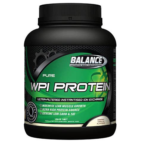 1 protein exchange balance wpi protein ion exchange 1 5kg