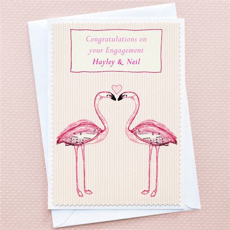Engagement Gift Cards - engagement card by jenny arnott cards gifts notonthehighstreet com