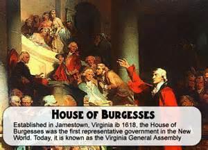 shaquita s us vocabulary house of burgesses