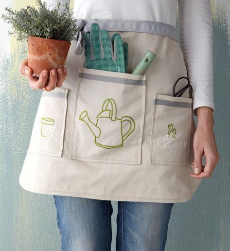 pattern gardening apron home made apron for gardening stitchcraft pinterest