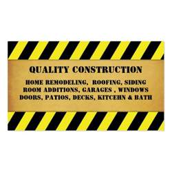 business cards for construction company home remodeling construction business card zazzle