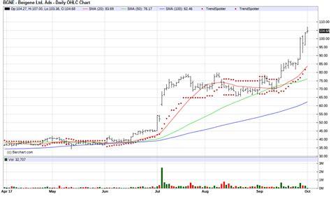 bar chart top 100 stocks 5 best stocks hitting all time highs jim van meerten