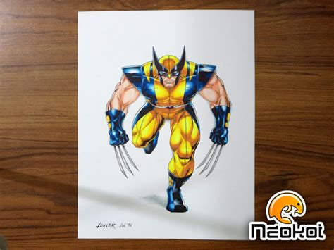 imagenes de wolverine en caricatura wolverine neokoi comics