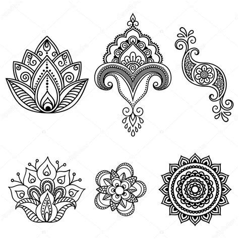 henna tattoo hand blume henna vorlage makedes