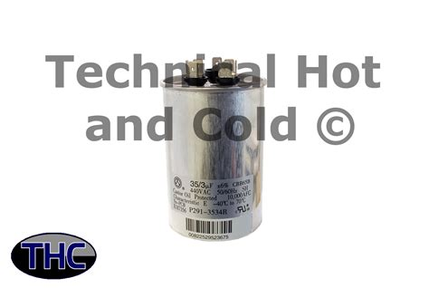 dual capacitor for carrier ac carrier p291 3534r dual run capacitor
