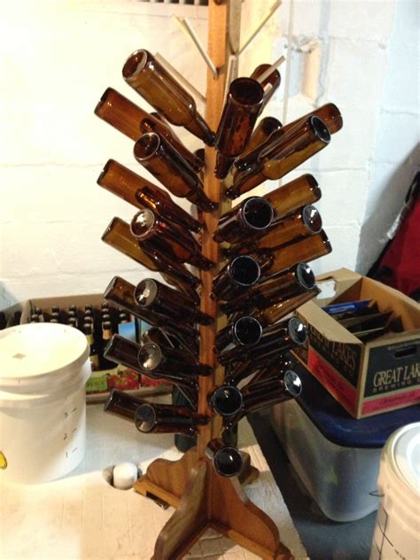 Diy Bottle Drying Rack by Diy Bottle Drying Rack Spirited Recipes