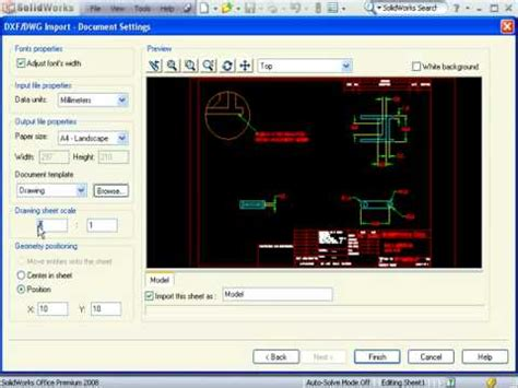 download youtube embedded videos embedded autocad drawings in solidworks by solidprofessor