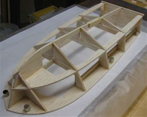 build  rc boat hull part