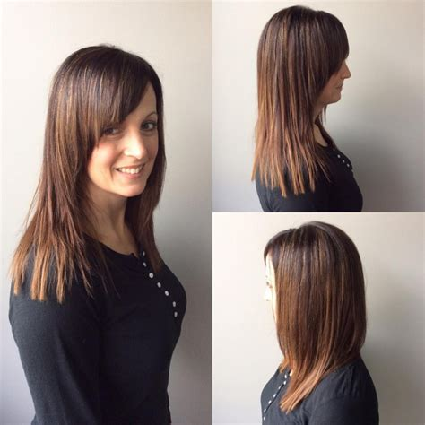 v shaped haircut medium length medium length v shaped layered haircuts haircuts models