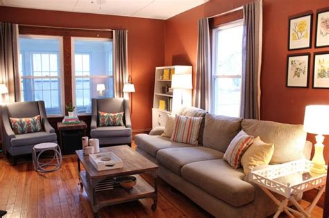 warm living room warm living room love the wall color blank slate
