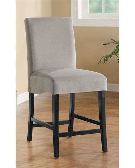 Grey 24 Inch Bar Stools by Coaster Stanton 24 Inch Gray Bar Stool Co 102069gry Set Of 2