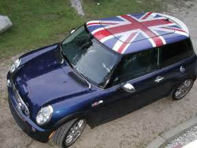 Mini Cooper With Union Roof Do You Like My New Ride A Postcard From