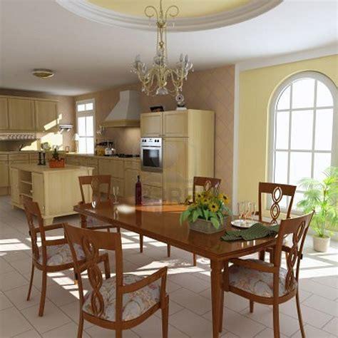 cucina sala sala da pranzo eureka