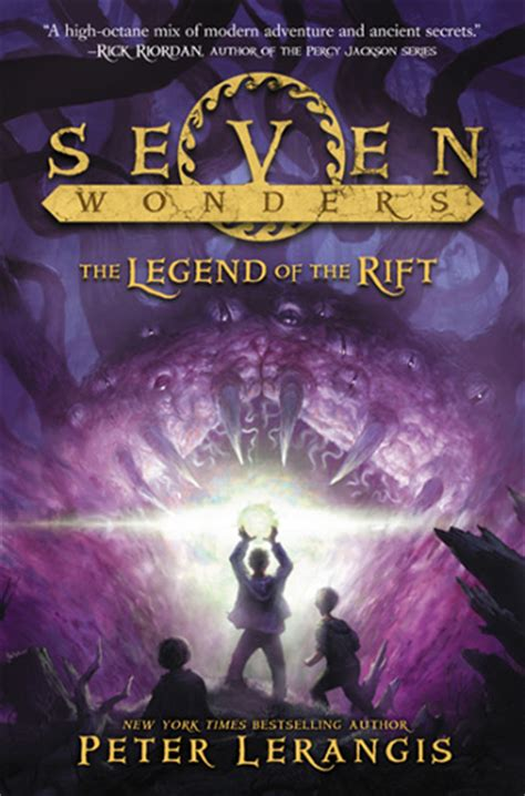 the seven book series seven wonders by lerangis home