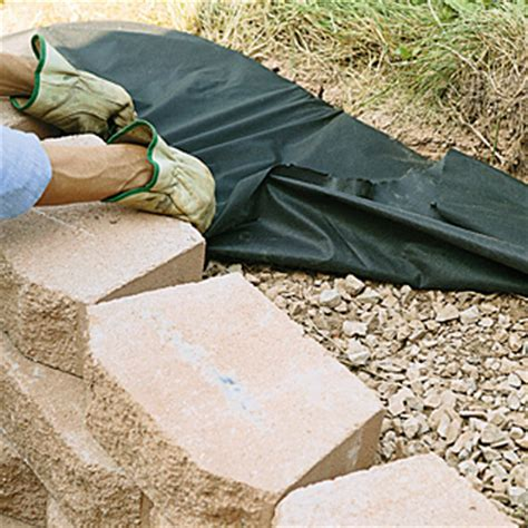 home depot pit stones build a retaining wall with landscape blocks garden club