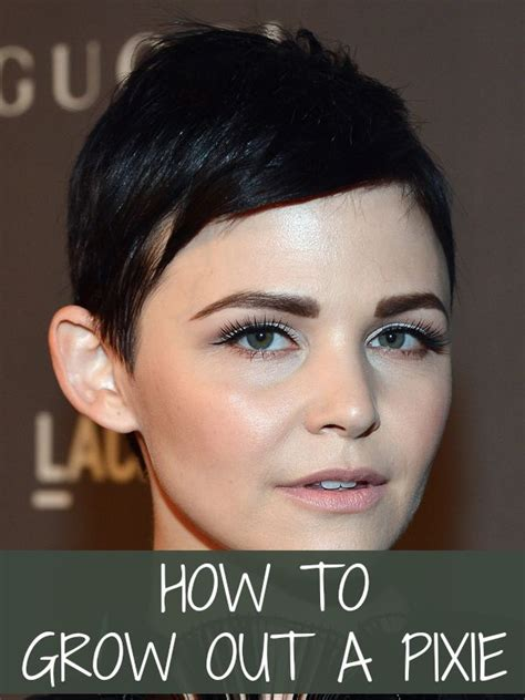 pictures of how to grow out a pixie cut how to grow out a pixie 6 tricks you can learn from