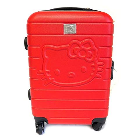 gorgeous red suitcases 12 cute hello kitty suitcases for children and teens