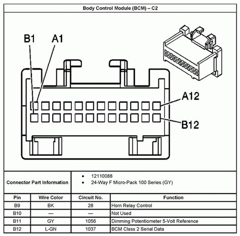 silverado radio wiring diagram 2005 efcaviation